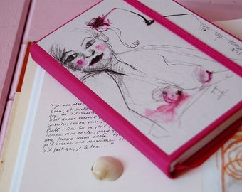 Notebook nude woman