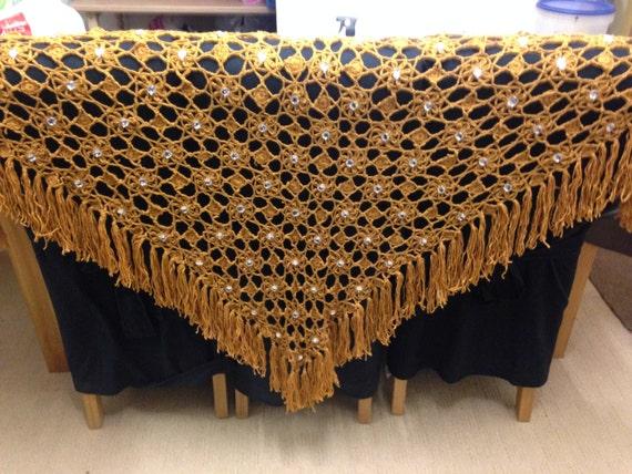 Handmade Triangle Shawl