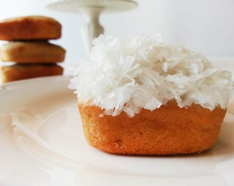 Coconut cake - Coconut loaf - various sizes - Gluten free option available