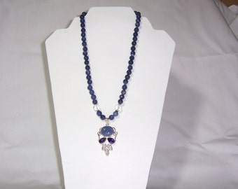 Dnim Blues Necklace