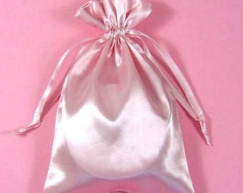 Satin drawstring bag | Etsy