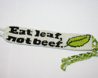 Vegetarian Friendship Bracelet