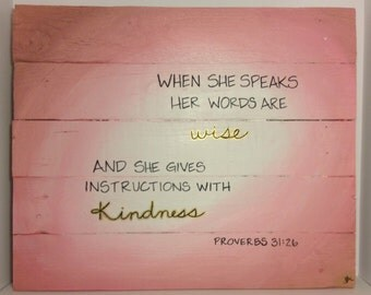 Proverbs 31 Sign