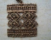 Pentti Sarpaneva Finland modernist necklace pendant chain 60's 70's