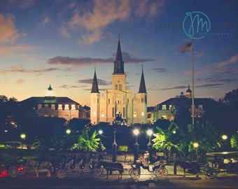 St. Louis Cathedral, New Orleans, New Orleans Print, New Orleans Photograph, French Quarter Art, New Orleans Print, Photography, Wall Decor