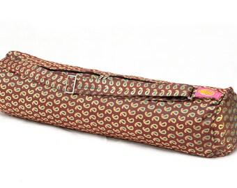 Funky Peacock Yoga Mat Bag