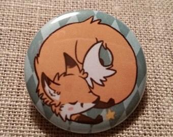 """Cute Fox Badge (Ø1,2"""")"""