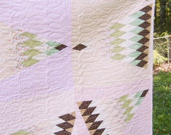 Cotton Candy Pink - Quilt - 47 x 63