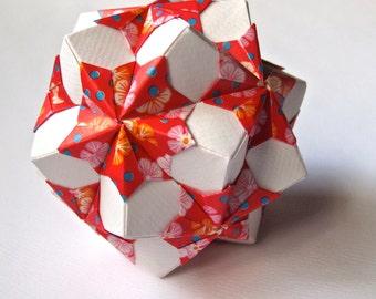 Origami Ball - Chrysanthemums