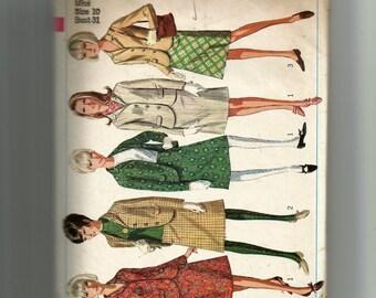 Simplicity Misses' Suit Pattern 6685