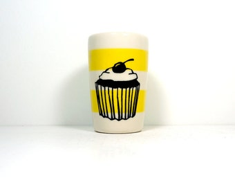 itty bitty cylinder cupcake - Made to Order/Pick Your Colour