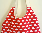 Up In The Airmail Handmade Tote Bag