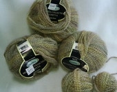 Cosetta, Bellezza Collection Sensations Yarns from Joannes, light sage green and cream multi