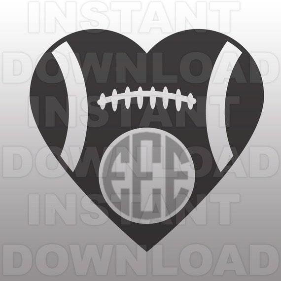 football heart clipart - photo #34