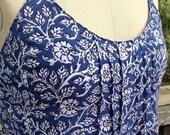 Sundress, festival dress, handmade, size 10-12, boho dress, backless dress