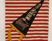 Watkins Glen, NY Pennant Flag Tote Bag-One of a Kind