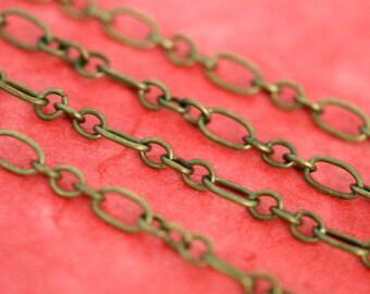 Sale 5 Feet Antique Bronze Mother-Son Chains CHSM010Y-AB