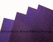 Nicoles BeadBacking 4 pack 12x9 Majestic Purple