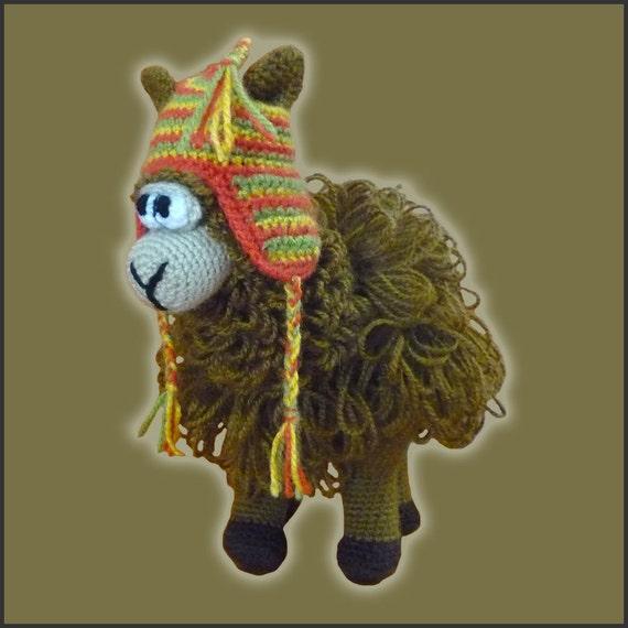 Amigurumi Puzzle Animals : Amamani Pattern Crochet Puzzle Ball Llama by DeliciousCrochet