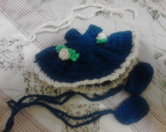 Blue Tutu For My 6.5in Curly Girl Dolls