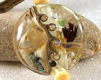 Lampwork  Art Beads by Jeanniesbeads #855