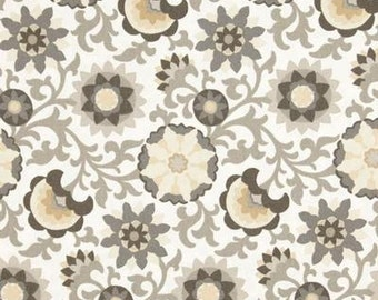 Waverly pinwheel parade fabric in charcoal hard to find 1 yard