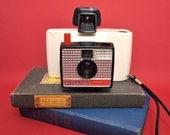 Vintage White Polaroid Land Camera Swinger