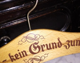 Vintage Wooden German Hanger