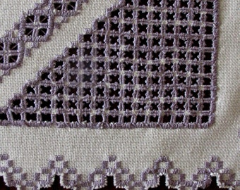 """Christmas Gift """"Hardanger Embroidery """"Centerpiece """"Home Decoration """"Table cloth"""