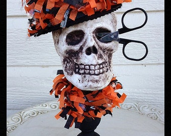 Halloween Decoration Running With Scissors Creepy Halloween Decoration Halloween Ornament for Halloween party