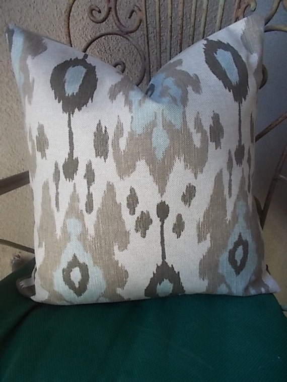Close out 19.00 Ballard Designs Ikat pillow cover by sierradecor