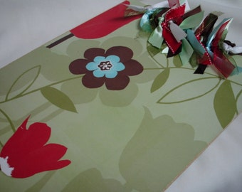 PEACEFUL FLOWER CLIPBOARD