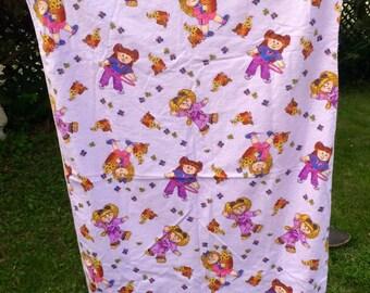 Fleece Cabbage Patch Kids Blanket