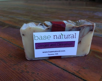 Ginger and Cinnamon Soap