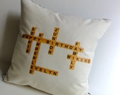 Words with Friends Pillow