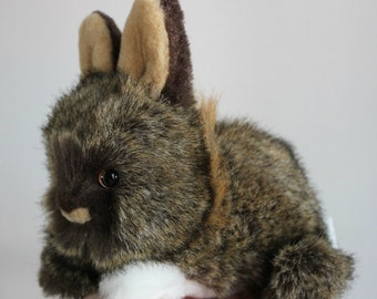 Chocolate Brown Bunny - OOAK - Reduced Price