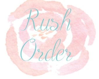 Rush Your Order, Quick Shipping