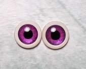 Doll eyes 12mm AD4 SM color Eggplant