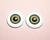 Doll eyes 6mm AD color Forest