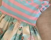 4y Belle double flutter dress SALE