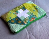 First Aid Kit Green Zippy Pouch, travel first aid kit, green pouch