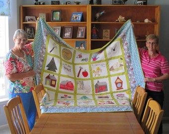 Custom Made Memory Quilt for your Loved One for a Special Celebration