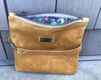 Leather Convertible Bag