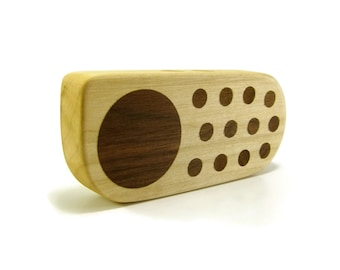 Wood Toy Cell Phone - Baby Rattle - Maple