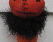 Primitive Halloween Pumpkin Cone Greeter Doll TheHowlingHag