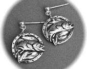 Trout Earrings,