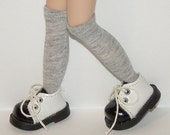 Tall Gray Socks For Blythe...One Pair Per Listing...
