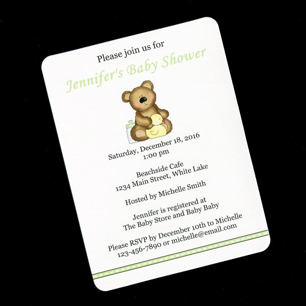 baby shower invitations gender neutral baby shower