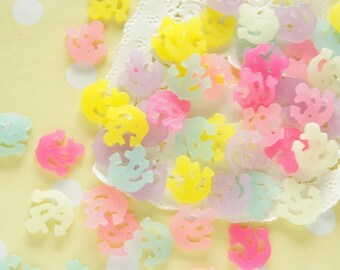 12 pcs Pastel Tiny Anchor Cabochon (14mm) DR517