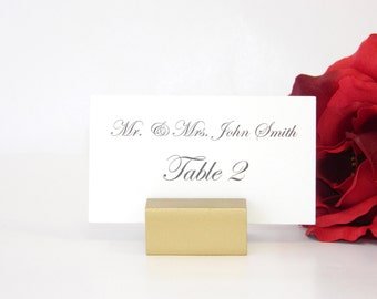 Place Card Holder +  Gold Place card holders + Wedding place card holders -Set of 100